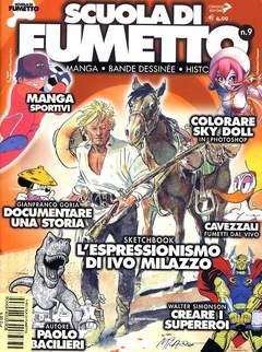 Copertina SCUOLA DI FUMETTO n.9 - SCUOLA DI FUMETTO            9, COMICOUT