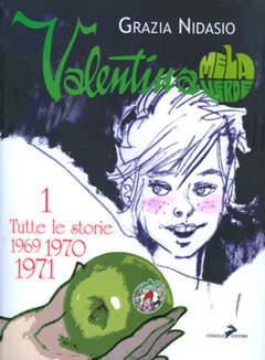 Copertina VALENTINA MELA VERDE (m4) n.1 - ARRIVA VALENTINA - 1969/1971, COMICOUT