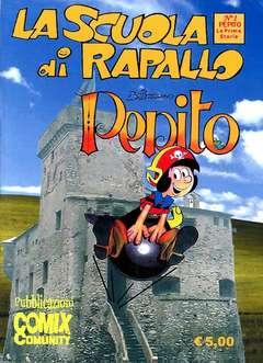 Copertina SCUOLA DI RAPALLO n.1 - PEPITO, COMIXCOMMUNITY