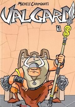 Copertina VALGARD n.1 - VALGARD, COMIXREVOLUTION