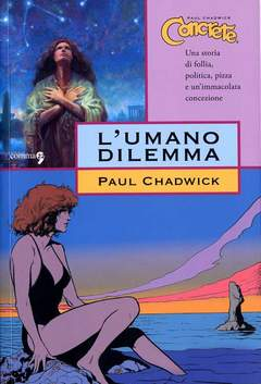 Copertina CONCRETE n.7 - L'UMANO DILEMMA, COMMA 22