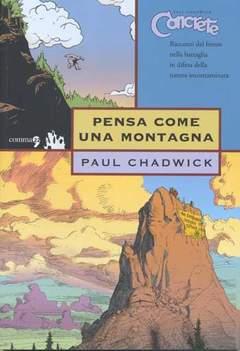Copertina CONCRETE n.5 - PENSA COME UNA MONTAGNA, COMMA 22