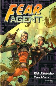 Copertina FEAR AGENT n.1 - FEAR AGENT VOL. 1 - RIPARTENZA, COMMA 22