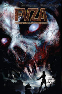 Copertina FVZA n. - FVZA - FEDERAL VAMPIRE AND ZOMBIE AGENCY, COMMA 22