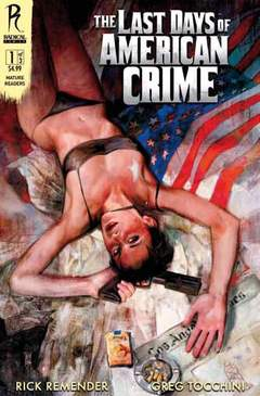 Copertina LAST DAYS OF AMERICAN CRIME n. - LAST DAYS OF AMERICAN CRIME, COMMA 22