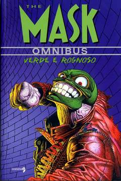 Copertina MASK OMNIBUS n.1 - THE MASK OMNIBUS VOL. 1 - VERDE E ROGNOSO, COMMA 22