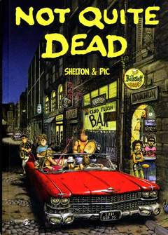 Copertina NOT QUITE DEAD n. - NOT QUITE DEAD, COMMA 22