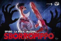 Copertina SBORROPIPPO Variant Cover n. - SBORROPIPPO - Variant Cover, COMMA 22