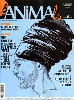 Copertina ANIMALS n.10 - ANIMALS, CONIGLIO EDITORE
