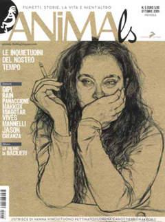 Copertina ANIMALS n.5 - ANIMALS, CONIGLIO EDITORE
