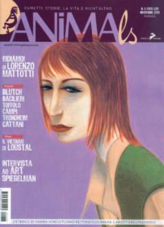 Copertina ANIMALS n.6 - ANIMALS, CONIGLIO EDITORE