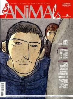 Copertina ANIMALS n.7 - ANIMALS, CONIGLIO EDITORE