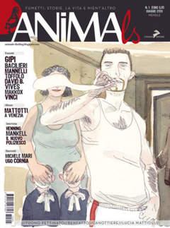 Copertina ANIMALS n.1 - FUMETTI STORIE, VITA E NIENT'ALTRO, CONIGLIO EDITORE