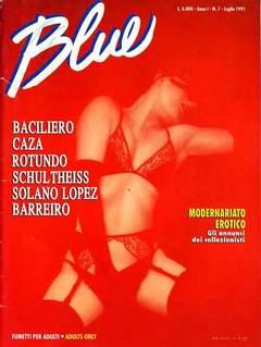Copertina BLUE n.7 - BLUE, CONIGLIO EDITORE