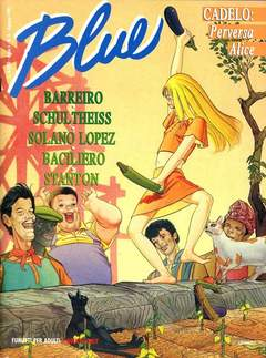 Copertina BLUE n.8 - BLUE, CONIGLIO EDITORE