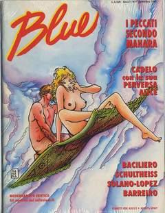 Copertina BLUE n.9 - BLUE, CONIGLIO EDITORE