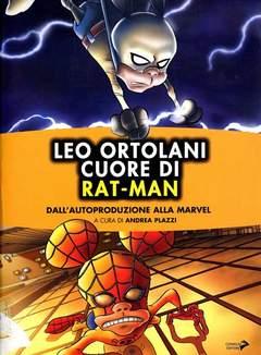 """Copertina SAGGI DI """"SCUOLA DI FUMETTO"""" n.2 - LEO ORTOLANI - CUORE DI RAT-MAN, CONIGLIO EDITORE"""