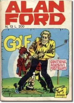 Copertina ALAN FORD n.13 - GOLF, CORNO EDITORIALE