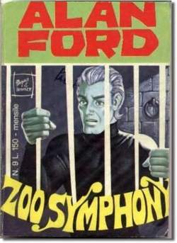Copertina ALAN FORD n.9 - ZOO SYNPHONY, CORNO EDITORIALE