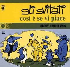 Copertina COMICS BOX DE LUXE n.12 - GLI SVITATI - COSI' E' SE VI PIACE, CORNO EDITORIALE