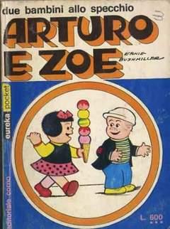 Copertina EUREKA POCKET n.13 - ARTURO E ZOE DUE BAMBINI ALLO SPECCHIO, CORNO EDITORIALE