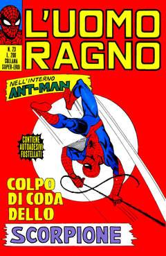 Copertina UOMO RAGNO n.23 - UOMO RAGNO                  23, CORNO EDITORIALE