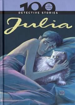 Copertina 100 ANNI DI FUMETTO ITALIANO n.13 - JULIA DETECTIVE STORIES, CORRIERE DELLA SERA