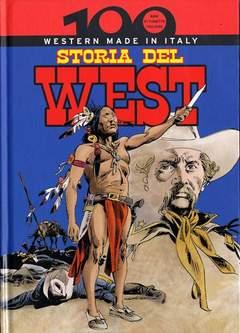 Copertina 100 ANNI DI FUMETTO ITALIANO n.31 - STORIA DEL WEST, CORRIERE DELLA SERA