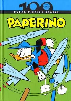 Copertina 100 ANNI DI FUMETTO ITALIANO n.6 - PAPERINO PARODIE NELLA STORIA, CORRIERE DELLA SERA