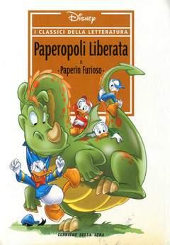 Copertina CLASSICI DELLA LETTERATURA DIS n.12 - Paperopoli liberata, CORRIERE DELLA SERA