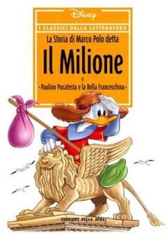 Copertina CLASSICI DELLA LETTERATURA DIS n.13 - La Storia di Marco Polo detta Il Milione, CORRIERE DELLA SERA