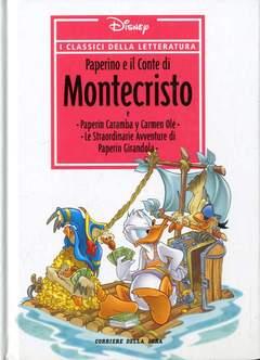 Copertina CLASSICI DELLA LETTERATURA DIS n.16 - Paperino e il Conte di Montecristo, CORRIERE DELLA SERA