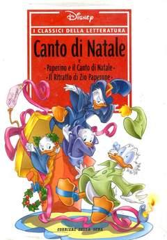 Copertina CLASSICI DELLA LETTERATURA DIS n.20 - Canto di Natale, CORRIERE DELLA SERA