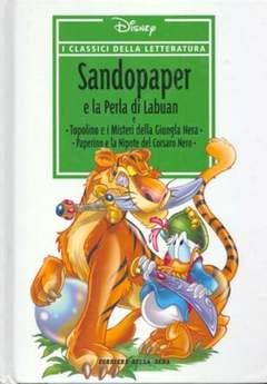 Copertina CLASSICI DELLA LETTERATURA DIS n.22 - Sandopaper e la perla di Labuan, CORRIERE DELLA SERA