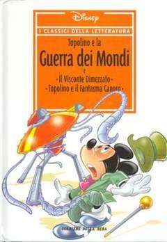 Copertina CLASSICI DELLA LETTERATURA DIS n.25 - Topolino e la guerra dei mondi, CORRIERE DELLA SERA