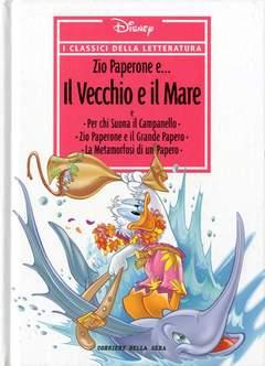 Copertina CLASSICI DELLA LETTERATURA DIS n.26 - Zio Paperone e... il vecchio e il mare, CORRIERE DELLA SERA