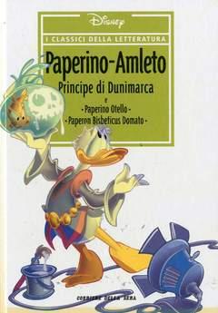Copertina CLASSICI DELLA LETTERATURA DIS n.27 - Paperino - Amleto principe di Dunimarca, CORRIERE DELLA SERA