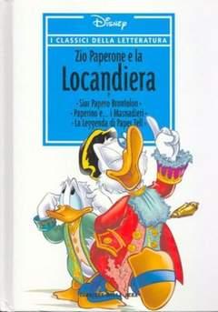 Copertina CLASSICI DELLA LETTERATURA DIS n.28 - Zio Paperone e la locandiera, CORRIERE DELLA SERA