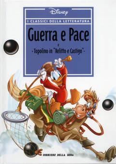 Copertina CLASSICI DELLA LETTERATURA DIS n.9 - Guerra e Pace, CORRIERE DELLA SERA