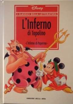 Copertina CLASSICI DELLA LETTERATURA DIS n.3 - L'Inferno di Topolino, CORRIERE DELLA SERA