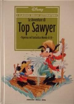 Copertina CLASSICI DELLA LETTERATURA DIS n.7 - Le avventure di Top Sawyer, CORRIERE DELLA SERA