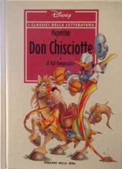 Copertina CLASSICI DELLA LETTERATURA DIS n.4 - Paperino Don Chisciotte, CORRIERE DELLA SERA