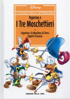 Copertina CLASSICI DELLA LETTERATURA DIS n.5 - Paperino e i Tre Moschettieri, CORRIERE DELLA SERA