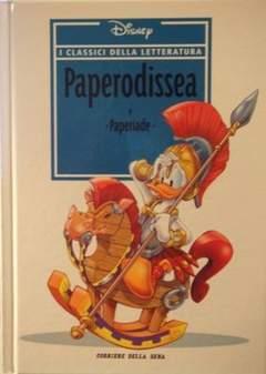 Copertina CLASSICI DELLA LETTERATURA DIS n.2 - Paperodissea, CORRIERE DELLA SERA