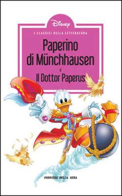 Copertina CLASSICI LETT.DISNEY II SERIE n.10 - PAPERINO DI MUNCHHAUSEN, CORRIERE DELLA SERA