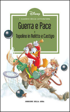 Copertina CLASSICI LETT.DISNEY II SERIE n.11 - Guerra e Pace, CORRIERE DELLA SERA