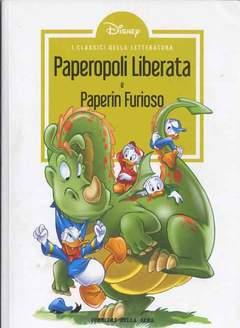Copertina CLASSICI LETT.DISNEY II SERIE n.14 - Paperopoli liberata, CORRIERE DELLA SERA