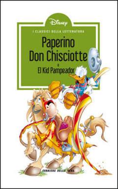 Copertina CLASSICI LETT.DISNEY II SERIE n.19 - Paperino Don Chisciotte, CORRIERE DELLA SERA