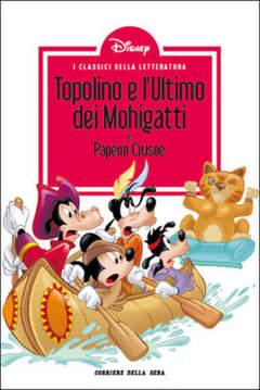 Copertina CLASSICI LETT.DISNEY II SERIE n.20 - Topolino e l'Ultimo dei Mohigatti, CORRIERE DELLA SERA