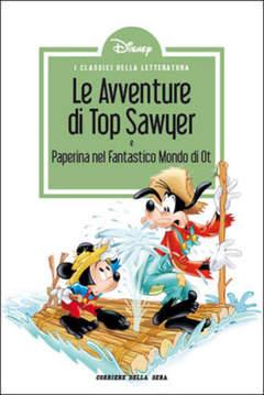 Copertina CLASSICI LETT.DISNEY II SERIE n.22 - Le avventure di Top Sawyer, CORRIERE DELLA SERA
